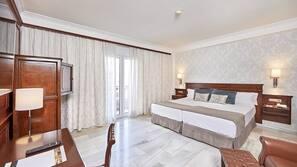 Minibar, caja fuerte, cortinas opacas y sistema de insonorización
