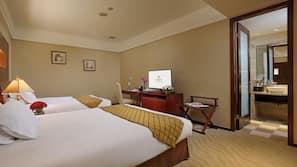 高級寢具、Select Comfort 床墊、保險箱 (可放手提電腦)、設計每間自成一格