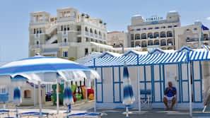 In Strandnähe, Cabañas (gegen Gebühr), Strandtücher