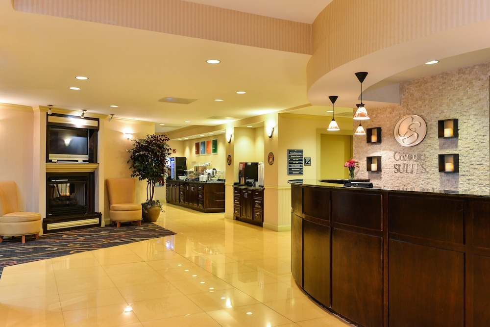 Lobby Lounge, Comfort Suites near MCAS Beaufort