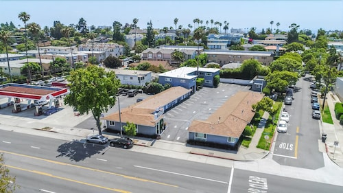 Aerial View, Santa Monica Motel