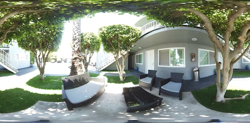 Terrace/Patio, Santa Monica Motel