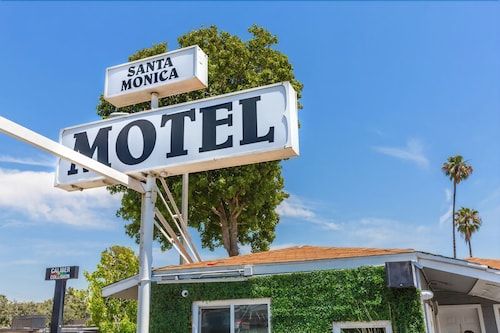 Front of Property, Santa Monica Motel