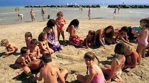 Private beach nearby, sun loungers, beach umbrellas, scuba diving