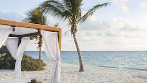 Private beach, beach massages, scuba diving, snorkeling