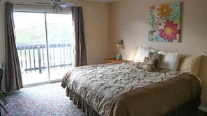Premium bedding, pillowtop beds, individually decorated, desk