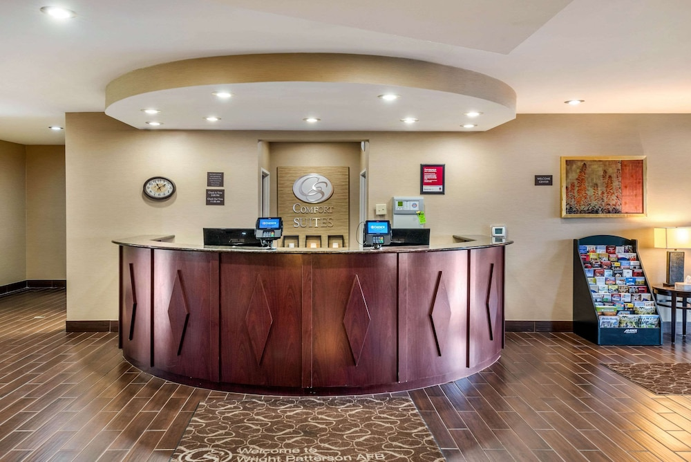Lobby, Comfort Suites Wright Patterson