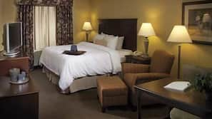 Premium bedding, pillowtop beds, in-room safe, laptop workspace