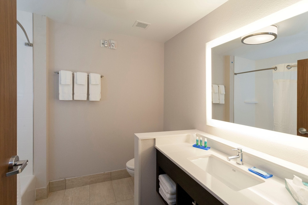 Bathroom, Holiday Inn Express and Suites Jacksonville East, an IHG Hotel