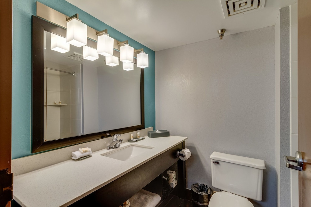 Bathroom, La Quinta Inn & Suites by Wyndham Sevierville / Kodak