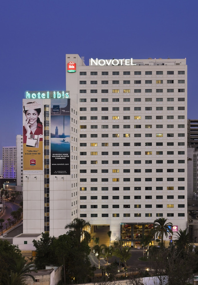 Front of Property - Evening/Night, Novotel Casablanca City Center