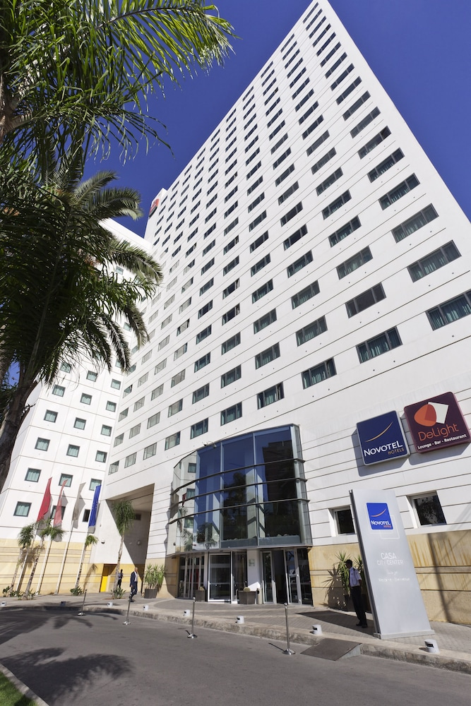 Front of Property, Novotel Casablanca City Center