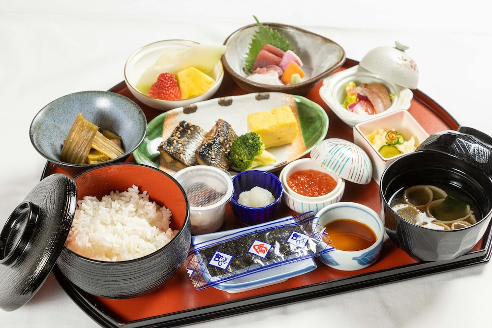 Breakfast Meal, Sapporo Prince Hotel