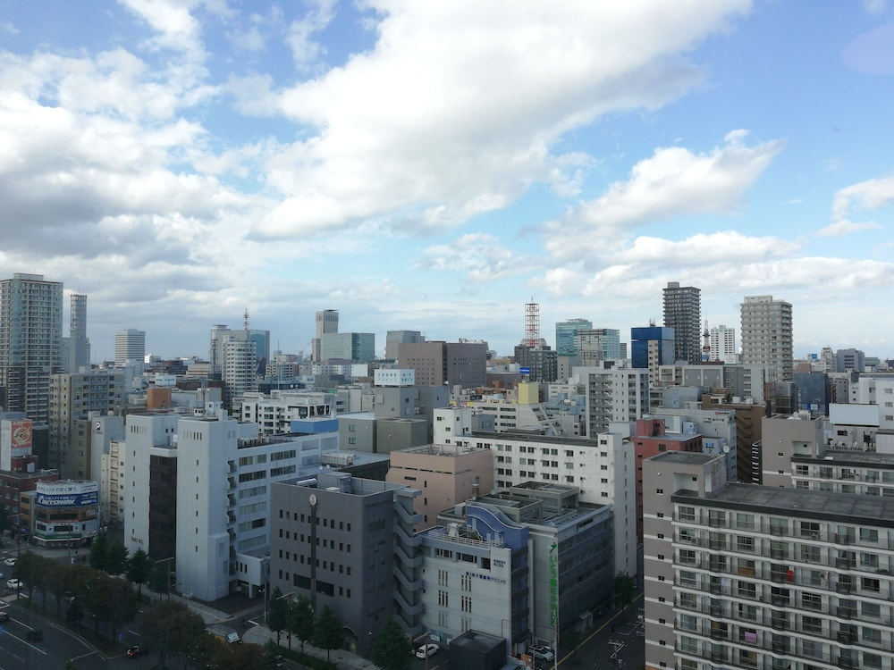 View from Room, Sapporo Prince Hotel