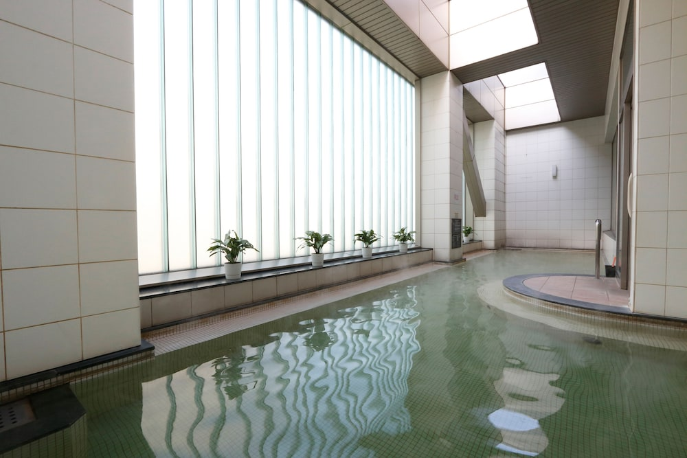 Hot springs, Sapporo Prince Hotel