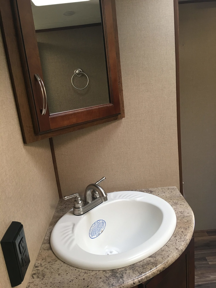 Bathroom Sink, Lake View Lodge