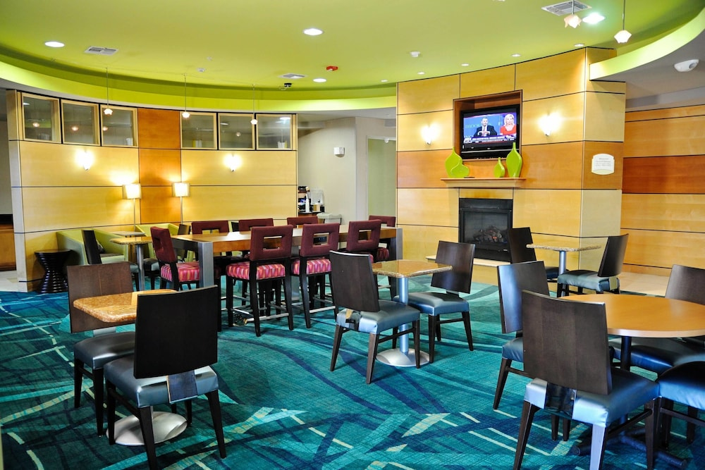 Lobby, Springhill Suites by Marriott Galveston