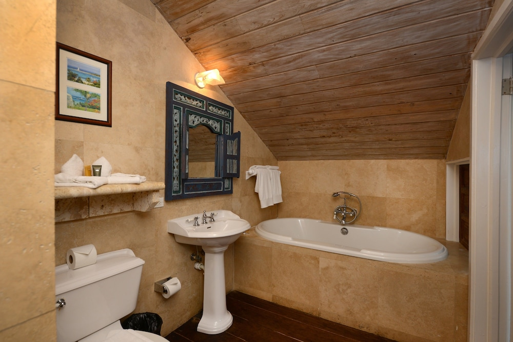 Bathroom, A Stone's Throw Away