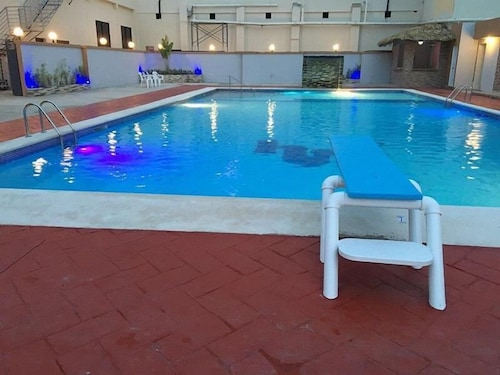Indoor/Outdoor Pool, Matum Hotel & Casino