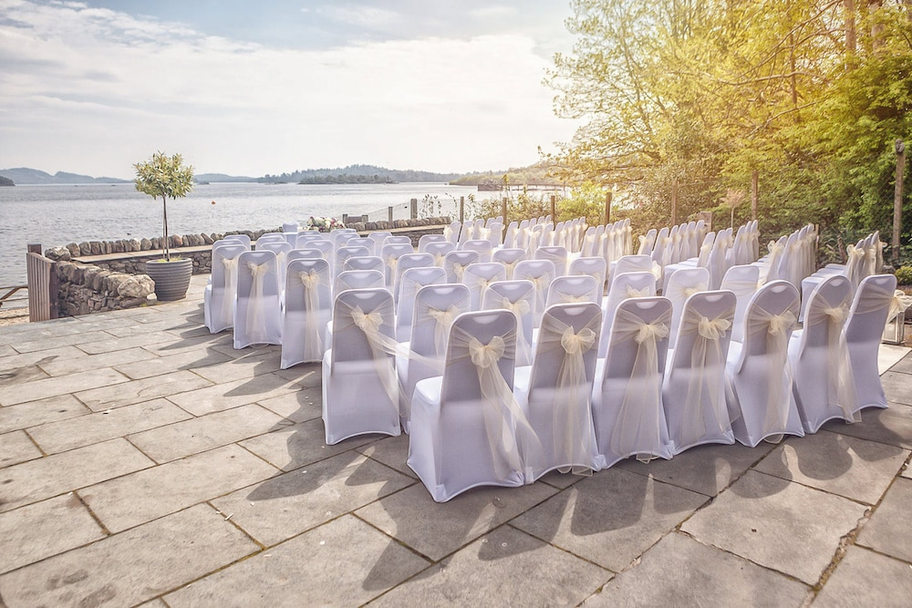 Outdoor Wedding Area, Lodge on Loch Lomond Hotel