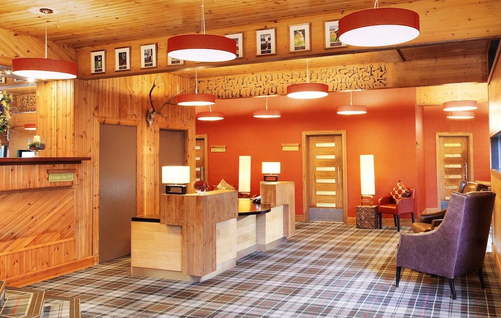 Lobby, Lodge on Loch Lomond Hotel