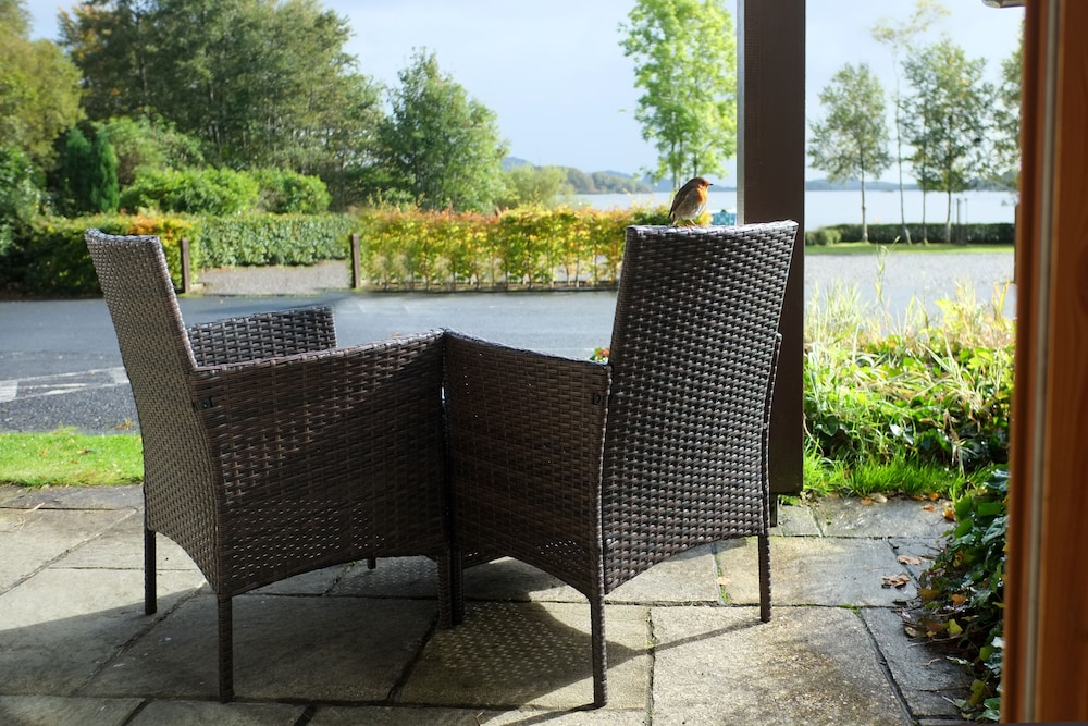 Terrace/Patio, Lodge on Loch Lomond Hotel