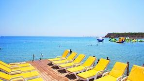 Beach nearby, free beach shuttle, free beach cabanas, sun loungers