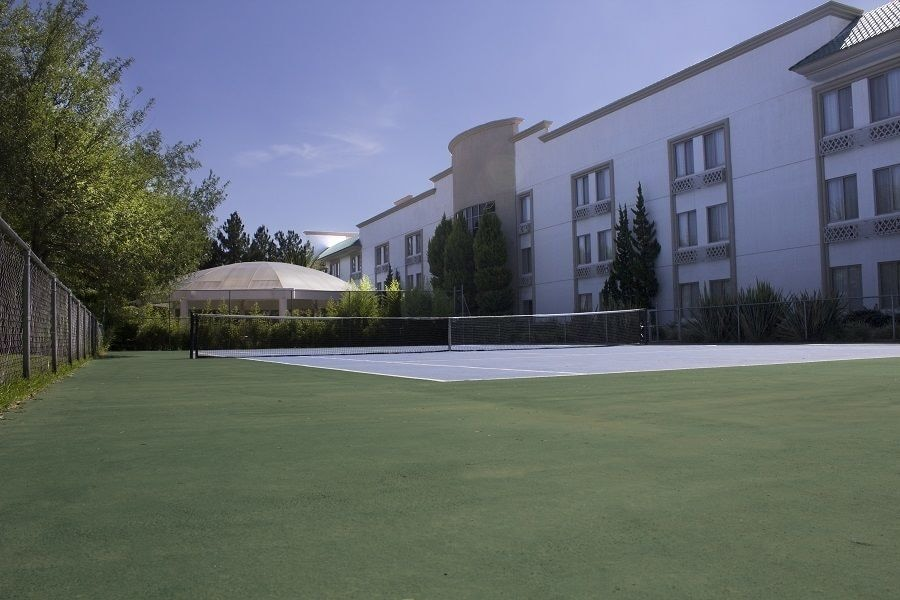 Tennis and Basketball Courts 3 of 17