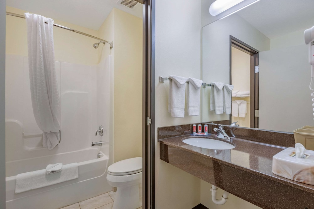Bathroom, Econo Lodge Inn & Suites Fairgrounds