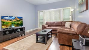 32-inch TV with cable channels