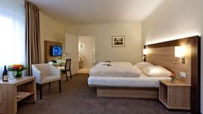 Allergitestet sengetøy, safe på rommet og strykejern/-brett