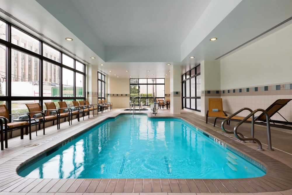 Indoor Pool, Courtyard by Marriott Houston by the Galleria