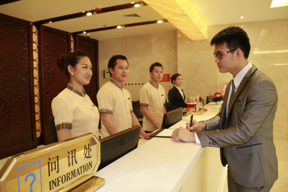 Reception, Don Chan Palace, Hotel & Convention