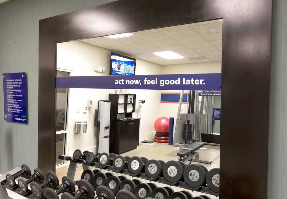 Gym, Hampton Inn & Suites Raleigh-Durham Airport-Brier Creek