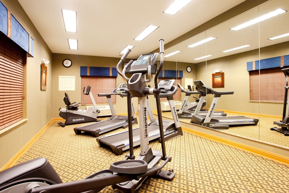 Fitness Facility, Holiday Inn Express Hotel & Suites Chicago South Lansing, an IHG Hotel
