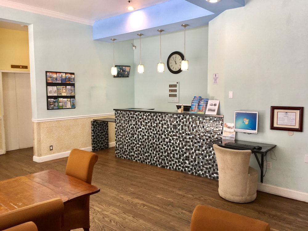 Check-in/Check-out Kiosk, Americas Best Value Inn & Suites SOMA