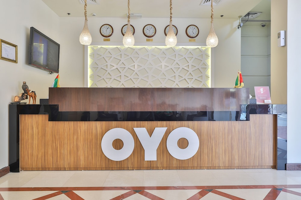Reception, OYO 367 Eureka Hotel