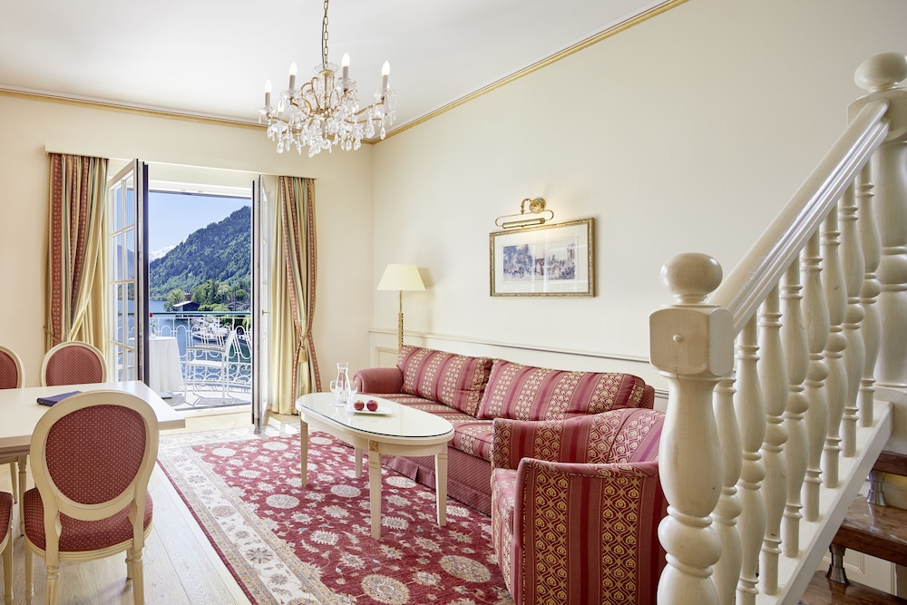 Living Area, Grand Hotel Zell Am See