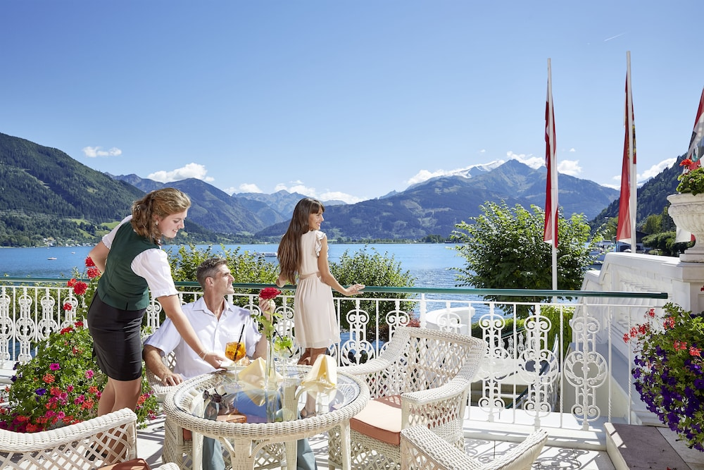 Outdoor Dining, Grand Hotel Zell Am See