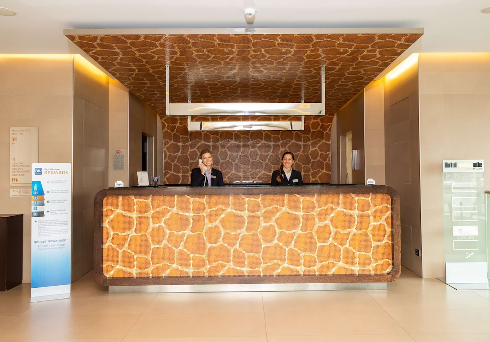 Reception, Best Western Hotel Goldenmile Milan