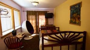 Individually decorated, individually furnished, free WiFi, alarm clocks