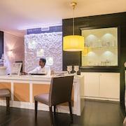 Reception della spa