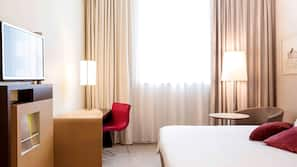 Minibar, in-room safe, desk, blackout curtains