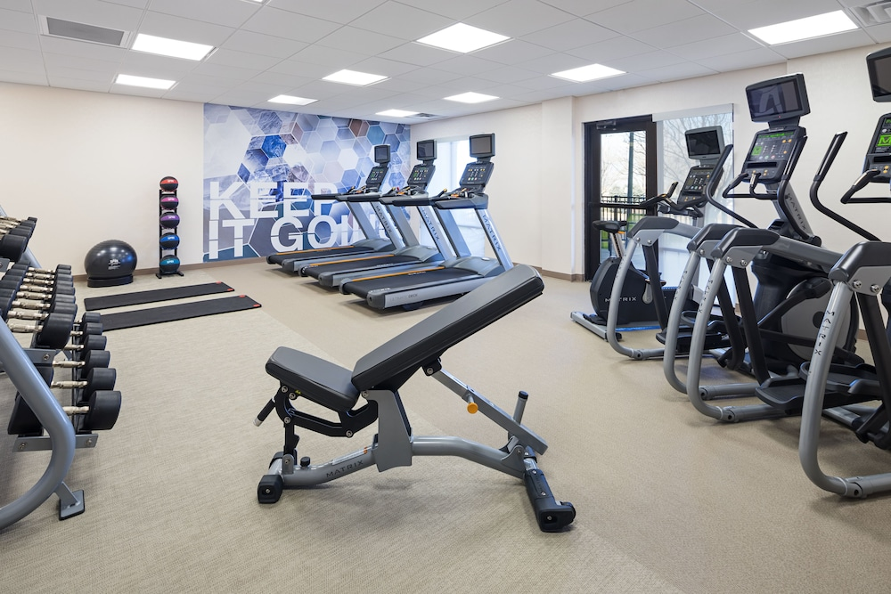 Fitness Facility, SpringHill Suites by Marriott Denver Airport