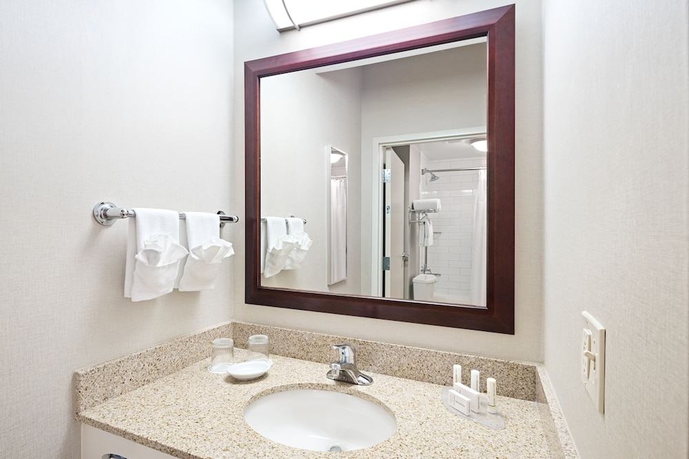 Bathroom, SpringHill Suites by Marriott Denver Airport