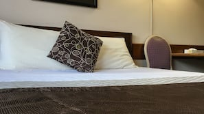 Premium bedding, down comforters, pillowtop beds, individually furnished