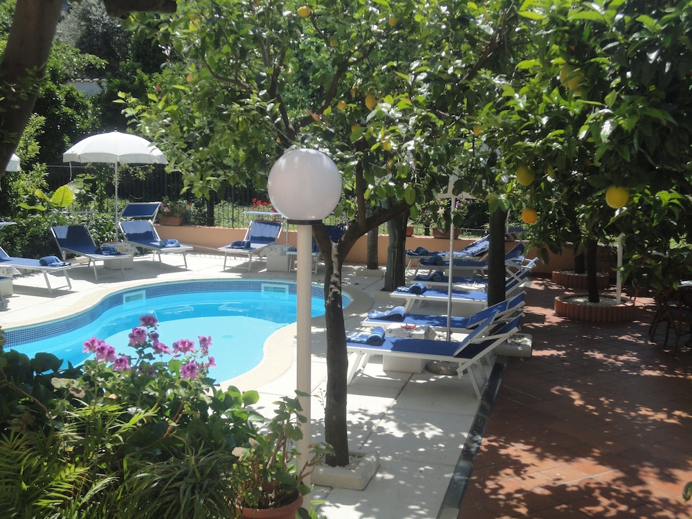 Outdoor Pool, Hotel Regina Sorrento