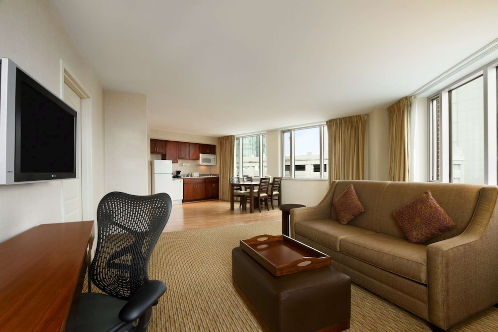 Room, Homewood Suites by Hilton Baltimore Inner Harbor