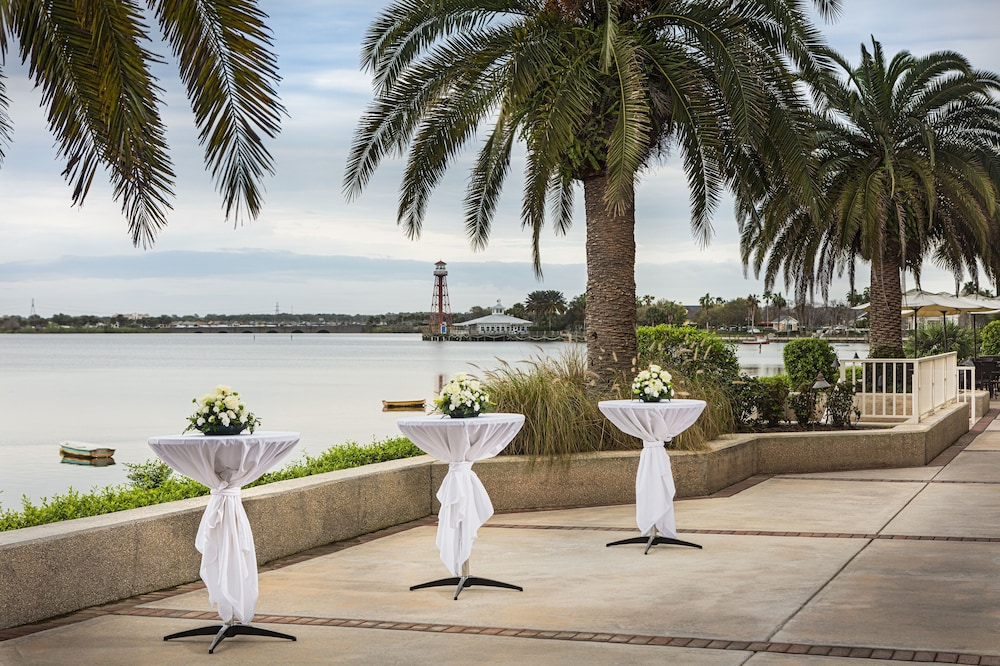 Outdoor Wedding Area, The Waterfront Inn