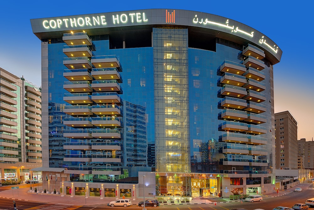 Front of Property, Copthorne Hotel Dubai